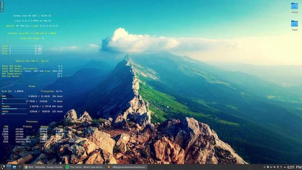 Arch Linux KDE Desktop Setup